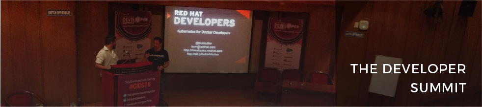 Kubernetes for Docker developers @ GIDS16